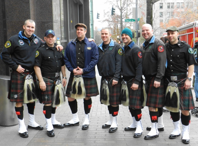 SSC 2013 pipes & drums