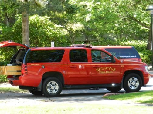 Bellevue Fire's Battalion 1.