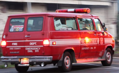 Seattle Fire Buff Unit driven by Lee Kane, Support 4. [Photo by LR Swenson]