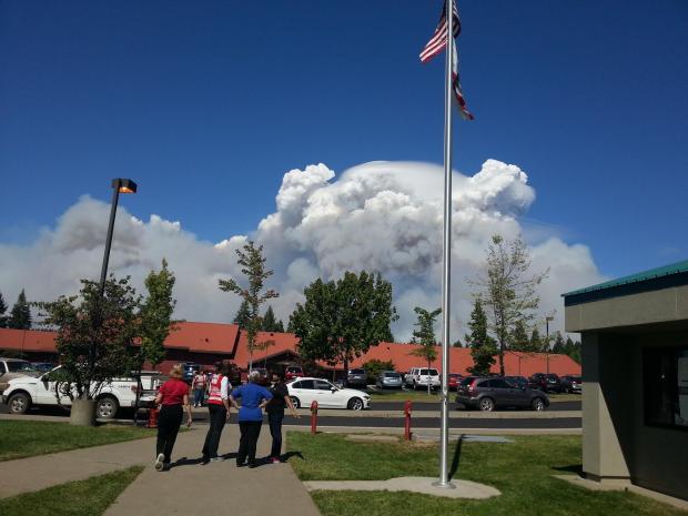 Sierra Ridge MS Evac on 9/19/14