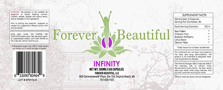 Product Recall: Forever Beautiful Bee Pollen due to Undeclared Drugs