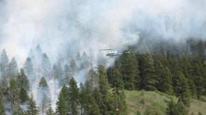 Hungry Hill Fire on May 8, 2015. [Photo Courtesy: Inciweb]