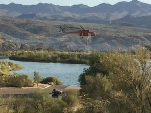 Photo Credit: AZ Dept of Forestry/@inciweb