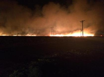 #FireImage Courtesy of Grant County Sheriff's Office