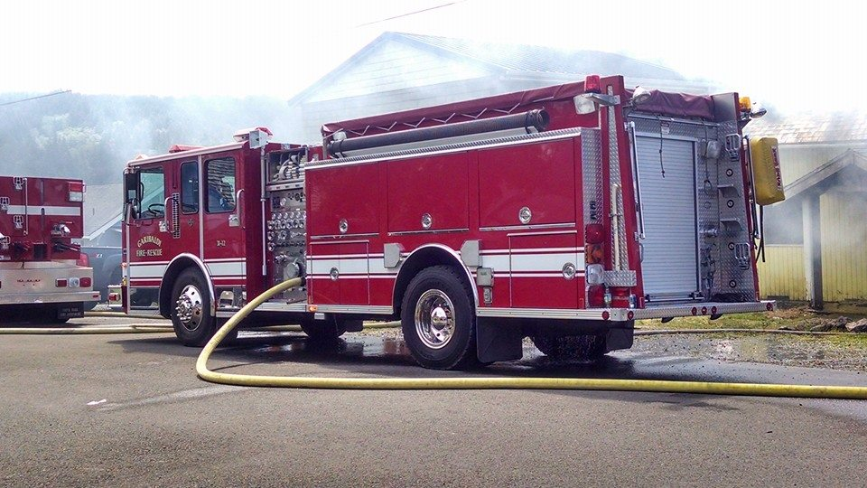 7.2014 Garibaldi Fire OR Engine