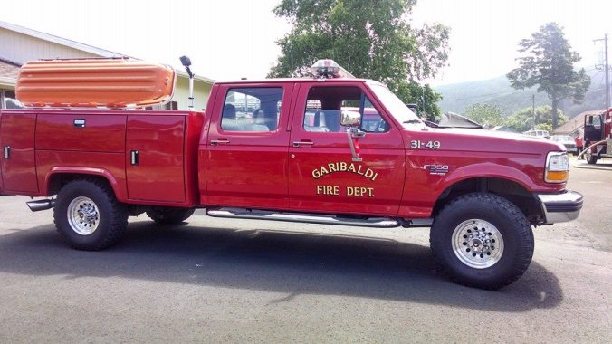 7.2014 Garibaldi Fire OR rig