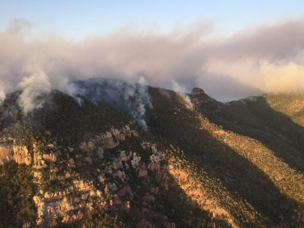Juniper Fire (Courtesy: Inciweb)
