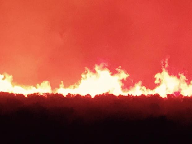 Owyhee Canyon Fire. (Courtesy: Inciweb)