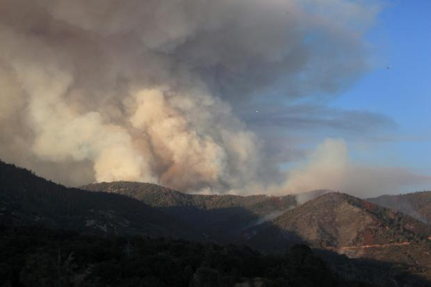 Cedar Fire (Courtesy:  Inciweb)