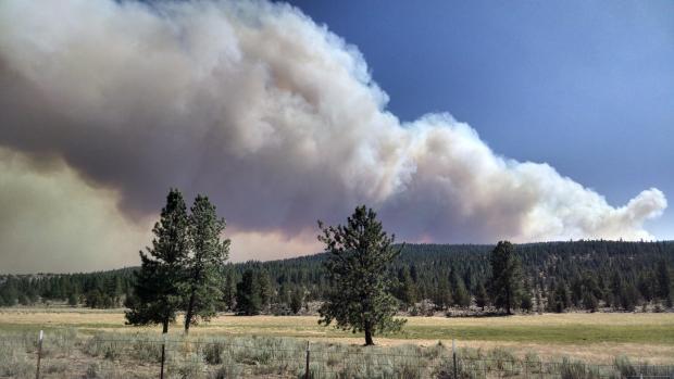 Rail Fire (Courtesy: Inciweb)