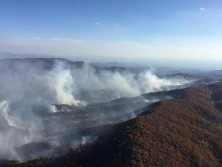Rough Ridge Fire (Courtesy: Inciweb)